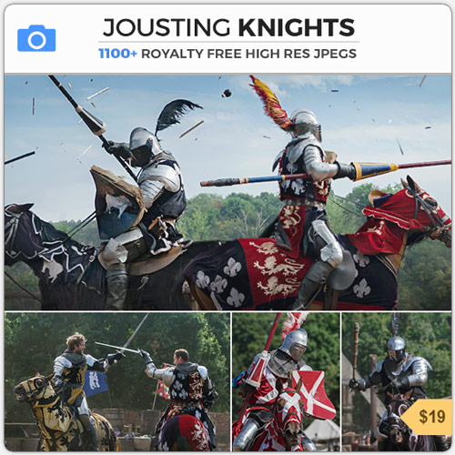 Jousting Knights Medieval Combat