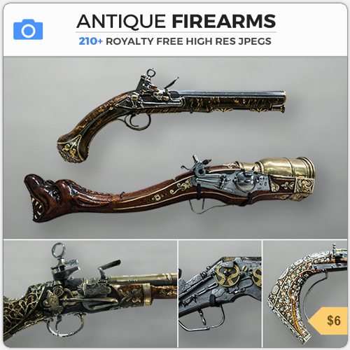 AntiqueFirearmsSteampunkGuns