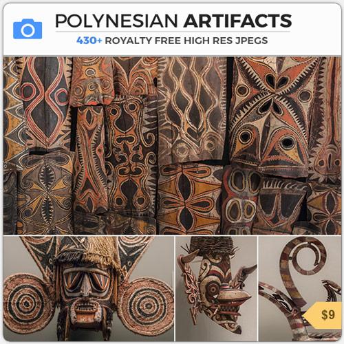 PolynesianArtifactsTribalMasks