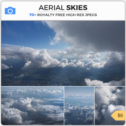 AerialSkiesClouds