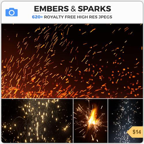 EmbersSparksFireParticles
