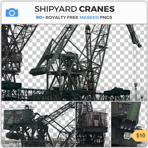 ShipyardCranesIndustrialMasked