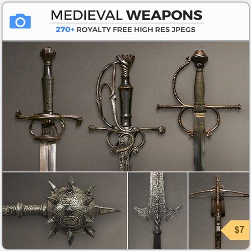 MedievalWeaponsSwordsSpears