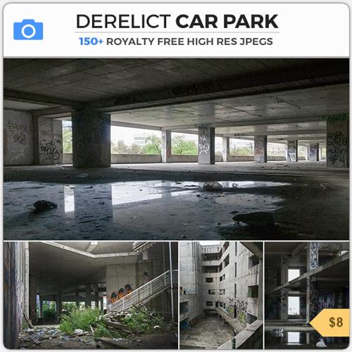 DerelictCarParkAbandonedLot