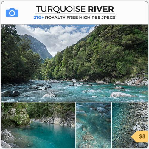 TurquoiseRiverBlueStream