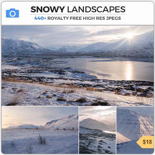SnowyLandscapesWinterMountains