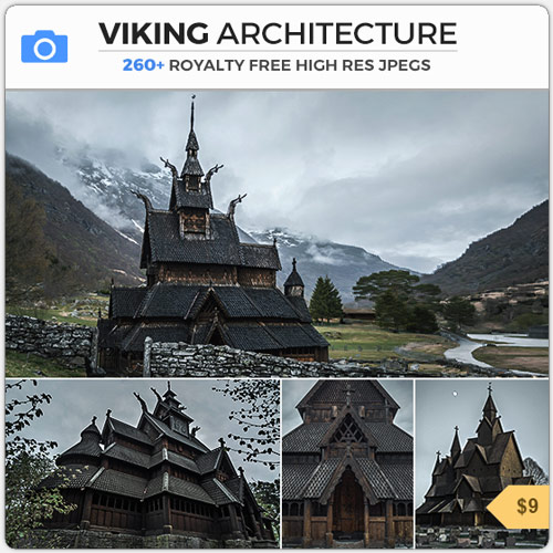 VikingArchitectureNorseStaveChurches