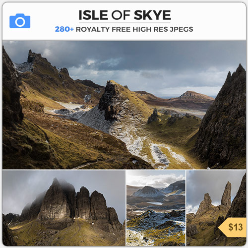 Isle Of Skye Scotish Highlands Reference