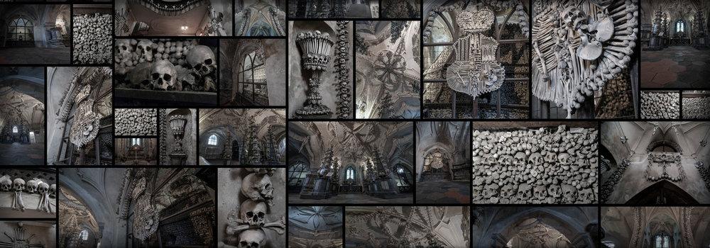 Bone Crypt Catacomb Tomb Skull Chapel
