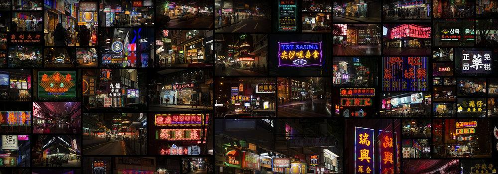 Hong Kong Cyberpunk Ghost In The Shell Neon City
