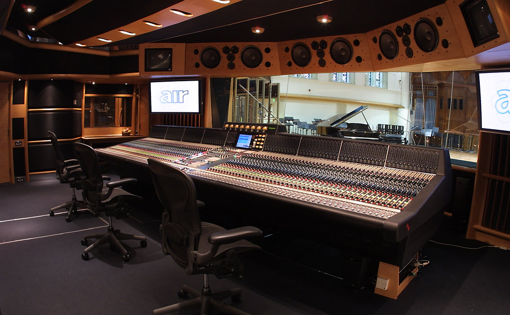 Air Studios Sound Board