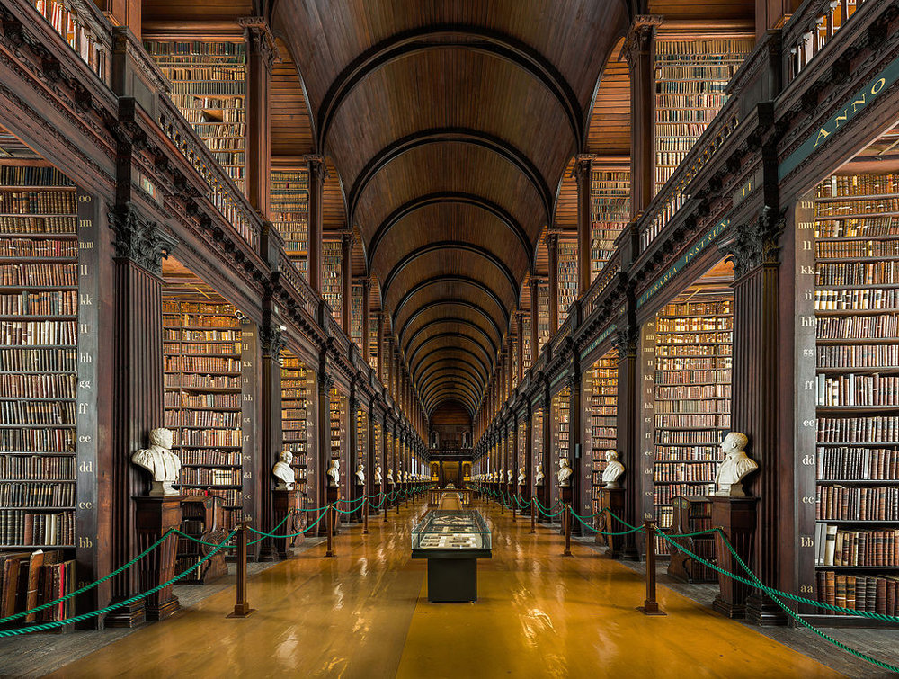Long Room, Trinity College Dublin