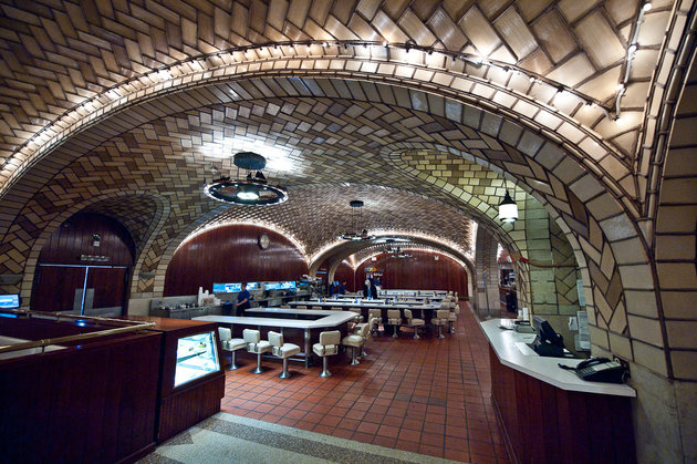 The Oyster Bar in Grand Central Terminal, New York City.