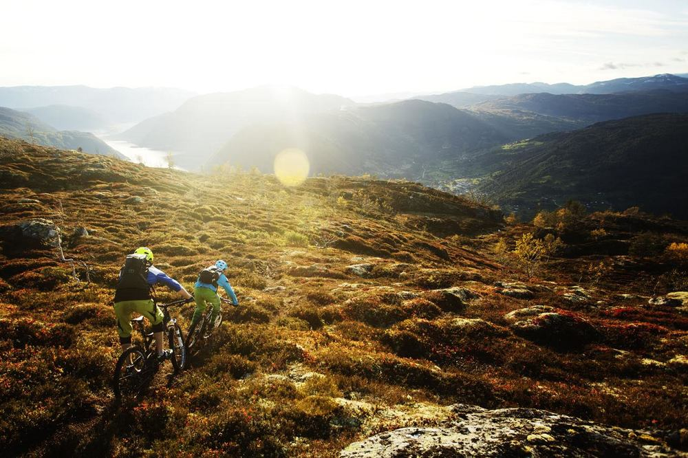 Basecamp Telemark: Mountain biking