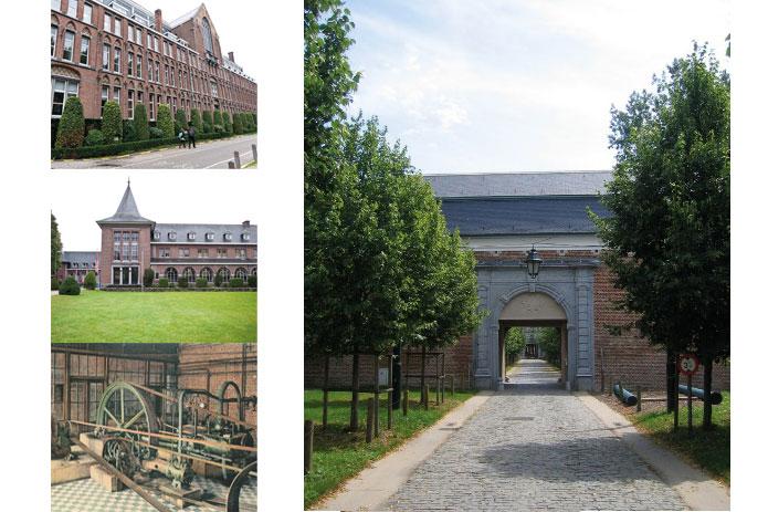 Kloostervleugel-Flos Campi-Industriele gebouwen. CEGAH