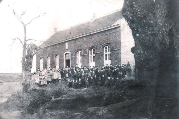 Vrije lagere school Oud-Heverlee ca 1881. Foto CEGAH