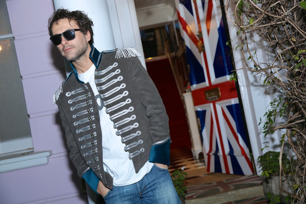 3.Campaign Jimmy Union Jack door  teal jacket.jpg