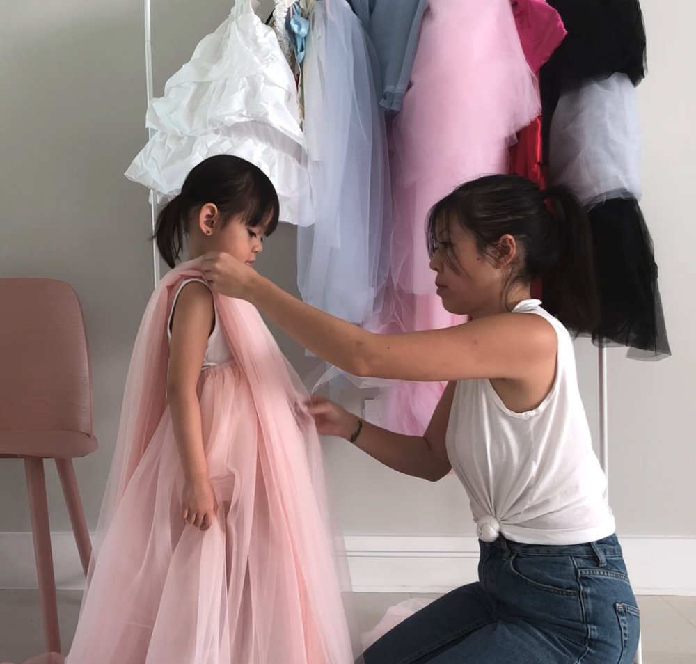 DIY Crazy Rich Asians Dress