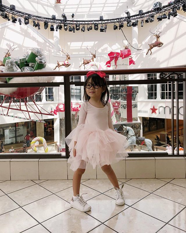 Give this girl a tutu and her day is made. You'll probably catch her twirling and leaping no matter where she is or who's watching. . And this tutu has buttons on the bottom. In mom world that equals: 🎉! . . . #olivialiviliv in #iloveplum http://liketk.it/2yEVM