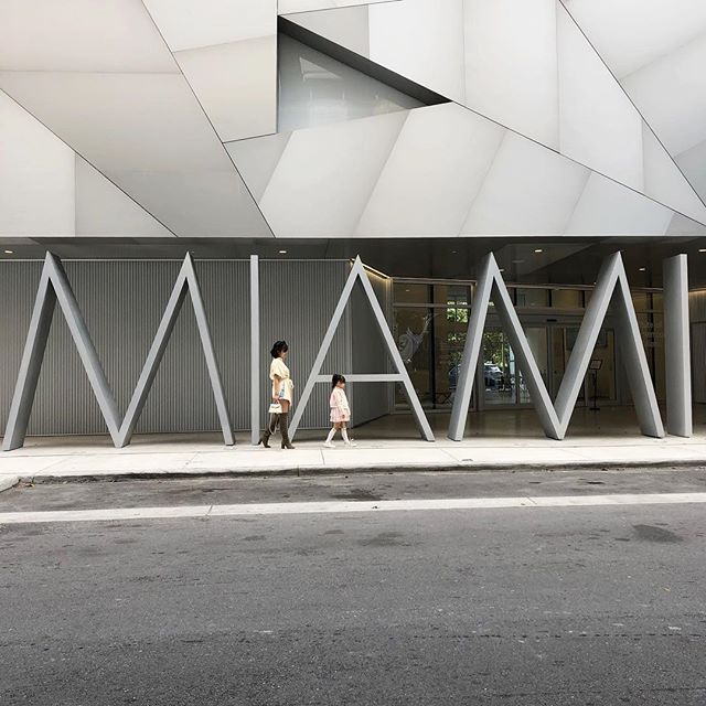 """""""Are we going to Miami or your-ami today?"""" She points to herself and says """"My-ami."""" . A day well spent cruising Little Havana, Design District, and Wynwood. Art Basel is one of the busiest weeks in Miami. We got out sooner than later because traffic gets intense as the day goes on. . . . #hahaandlivi #olivialiviliv #atmdd"""