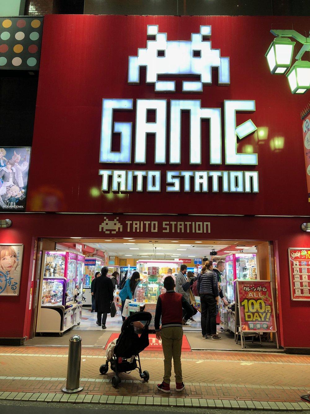 Tokyo Game Station on meethaha.com