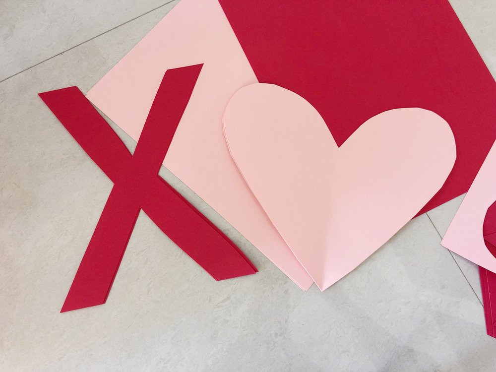 Valentine Tic Tac Toe Grid