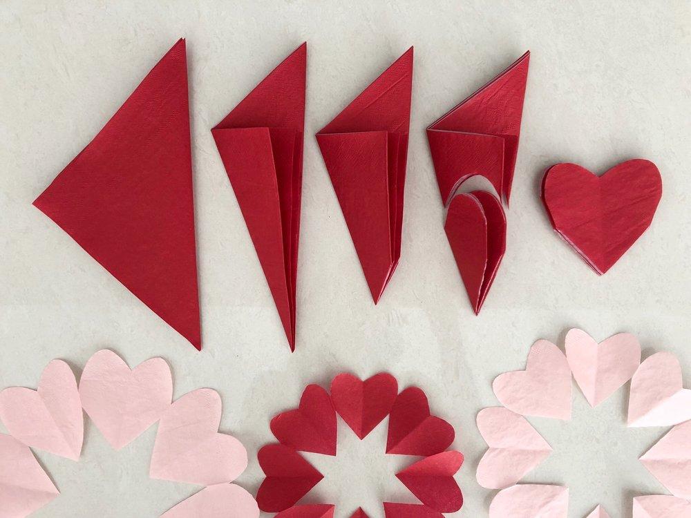 Martha Stewart Paper Heart Doilies