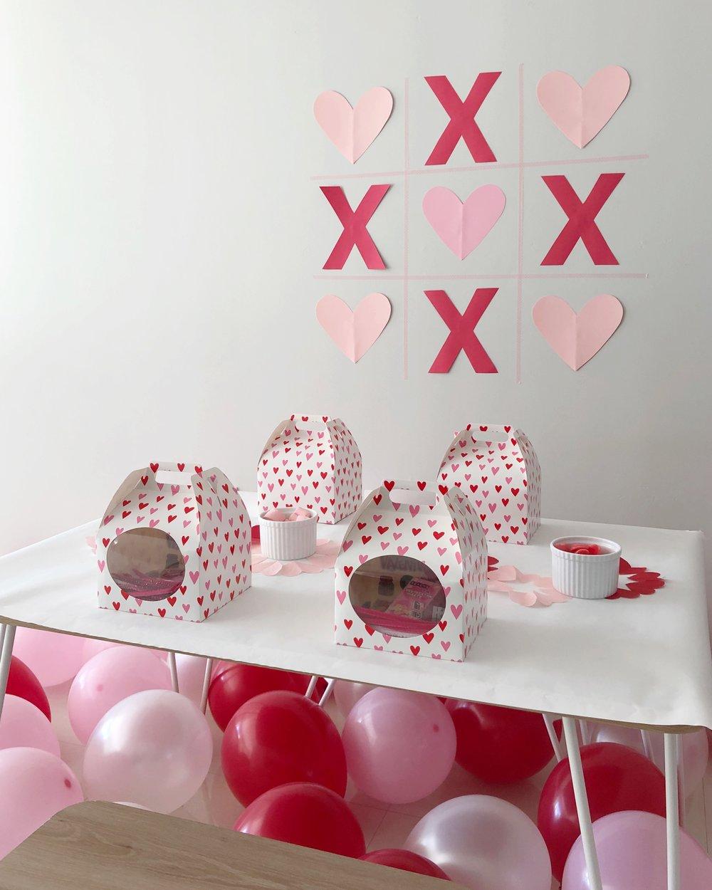 Simple Valentine Party on meethaha.com