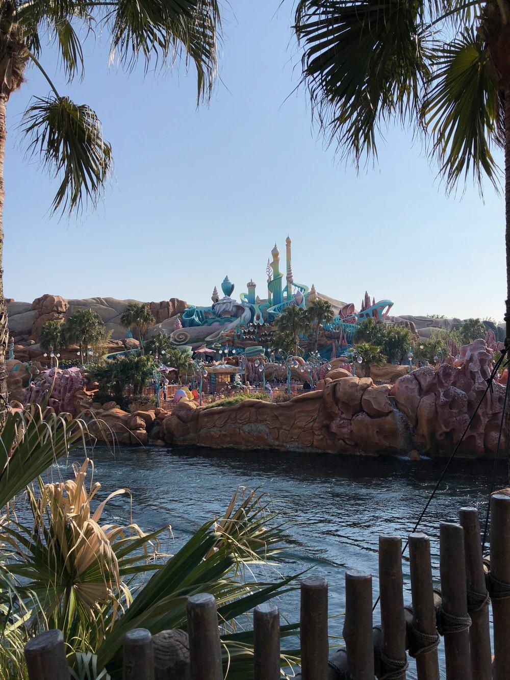 Ariel's Grotto at Tokyo Disney SEA