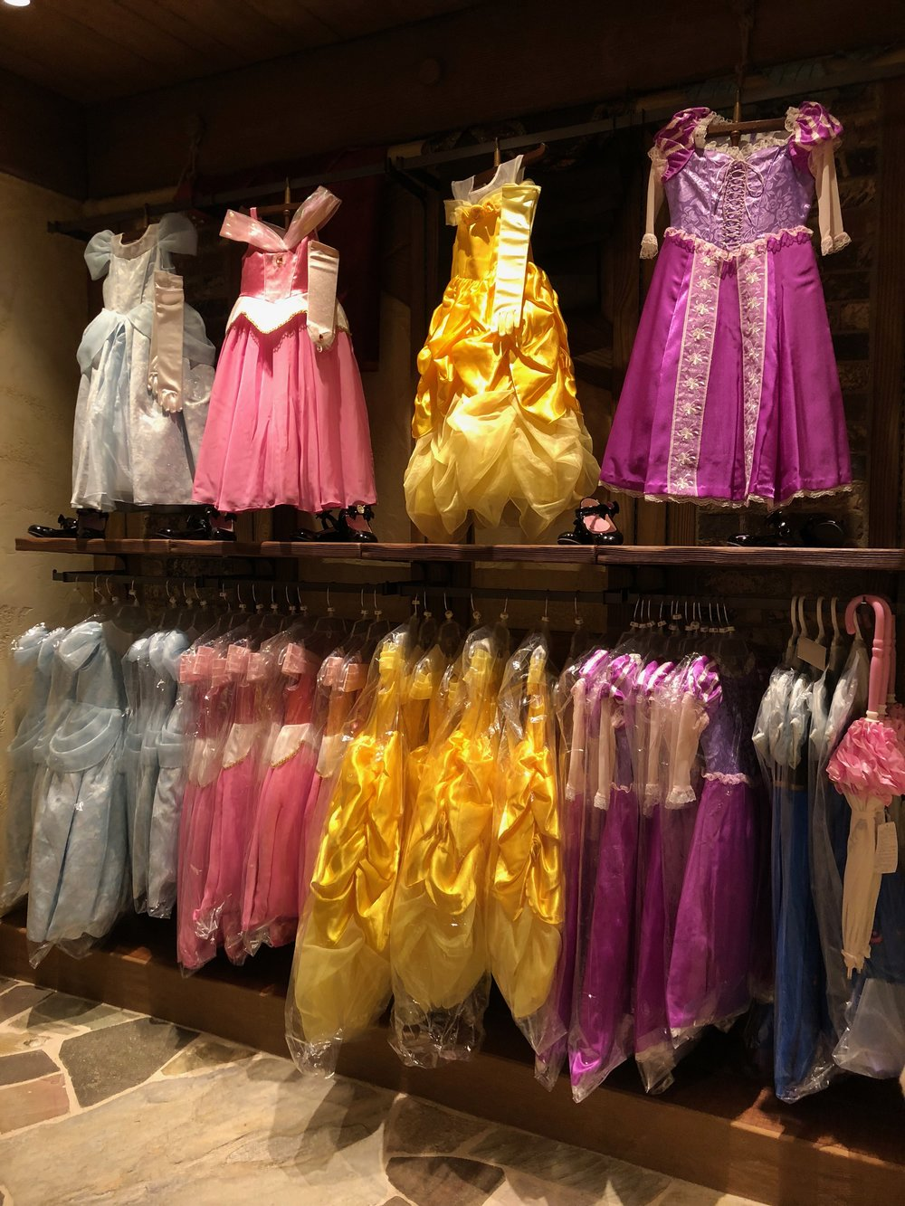 Best Disney Princess Dresses at Tokyo Disney