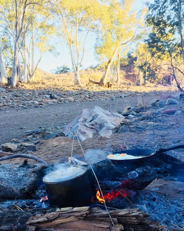 Flinders rangers camping