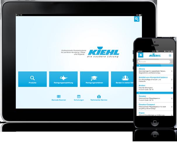MOBIL LØSNING - Den nye innovative Kiehl-App har alle de riktige svarene på dine spørsmål rundt rengjøring.RASKT, HVOR SOM HELST, NÅR SOM HELSTLES MER