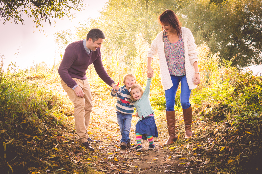 Family photoshoot in Autumn. {Taken in Nantwich, Cheshire - Photos by Ben © 2016}