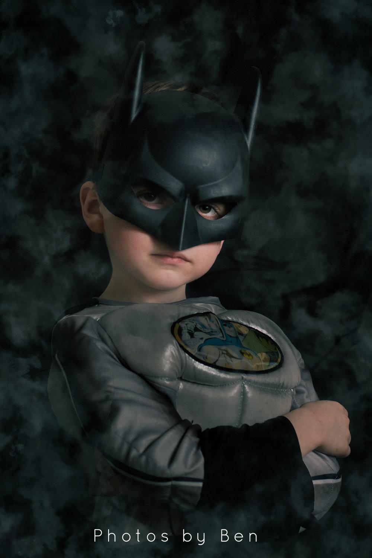 Batman style portrait!