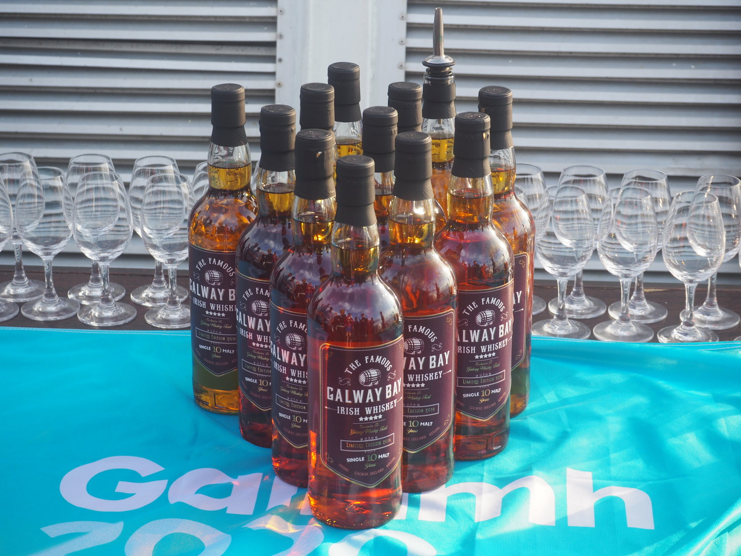The Official Launch of The Famous Galway Bay Irish Whiskey