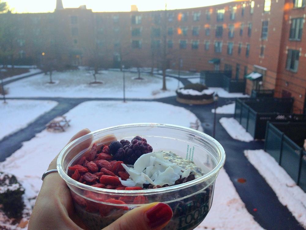 Warm Winter Chia Pudding 2