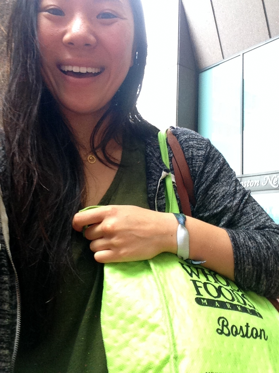 so pumped to be carrying a Whole Foods bag full of juice — it fits perfectly!