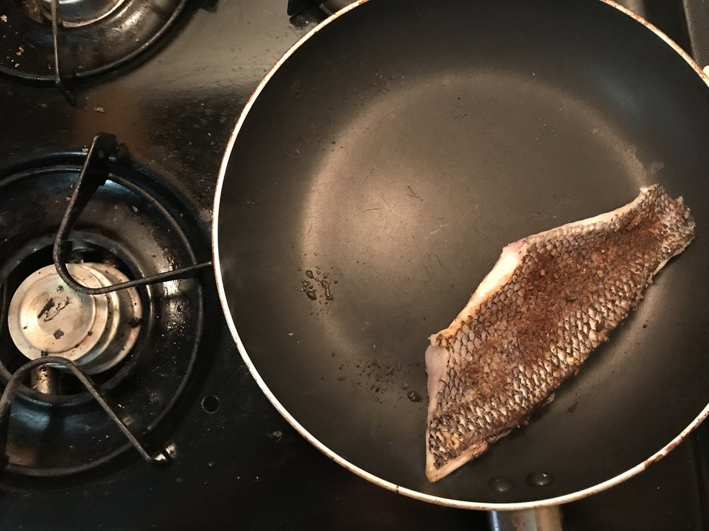 fish in the making