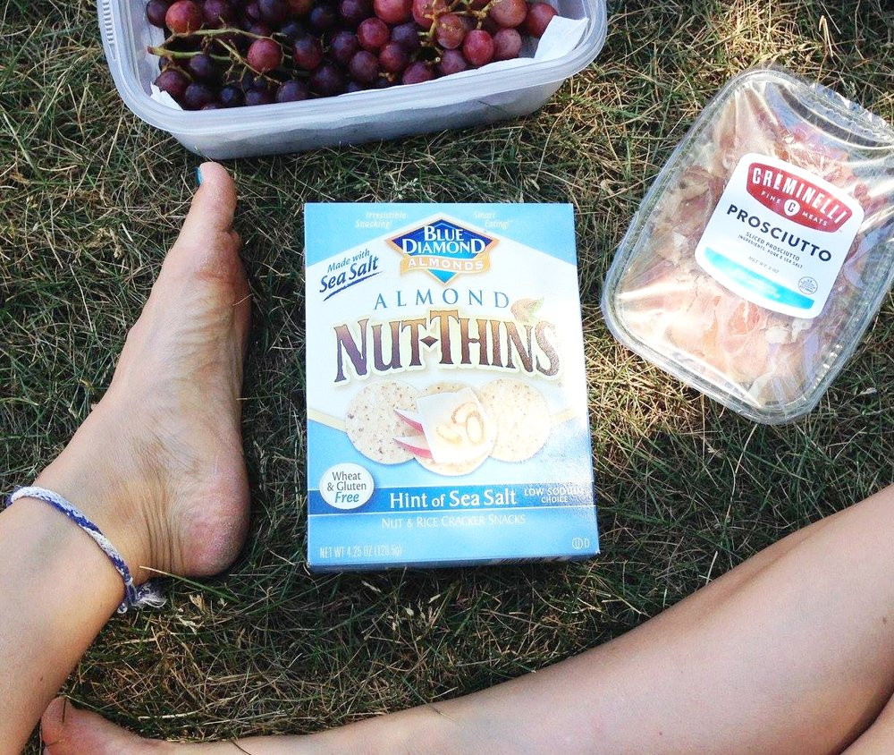 picnic essentials crunchy snacks
