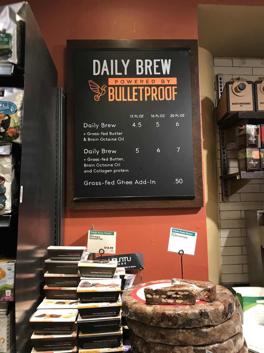 bulletproof coffee whole foods