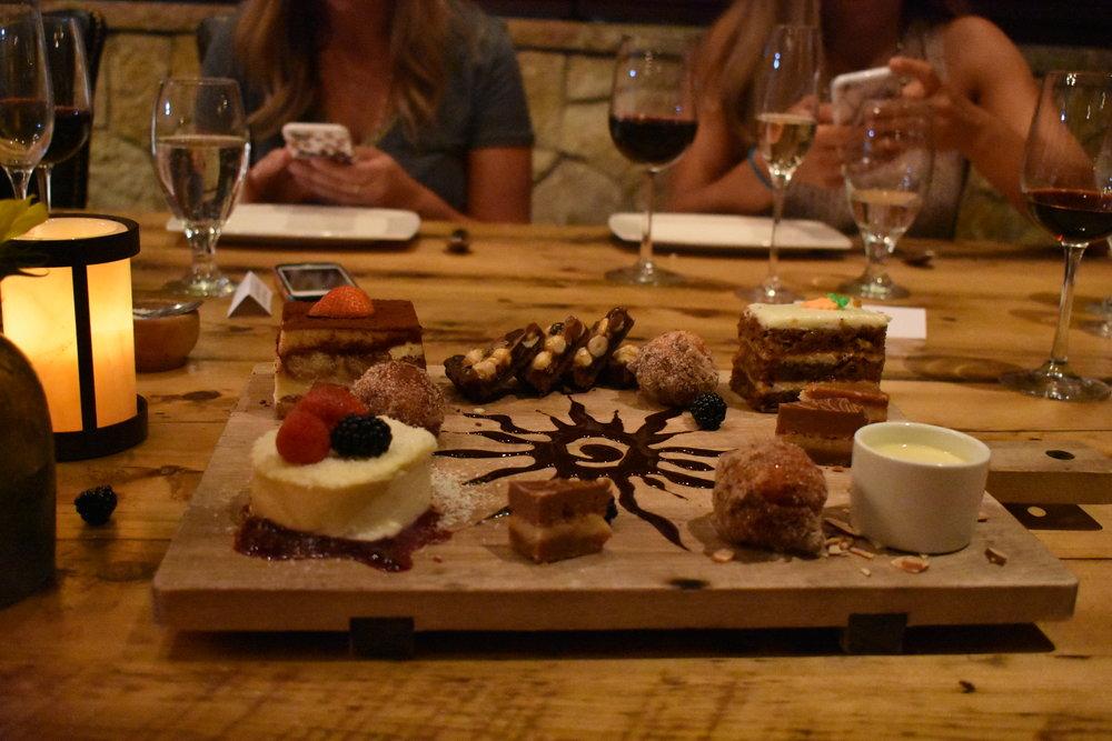 dessert plate tuscan kitchen