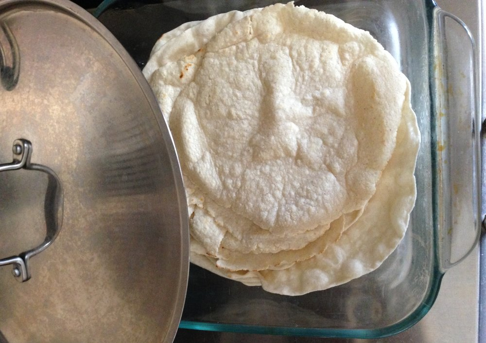 homemade corn tortillas - approaching paleo