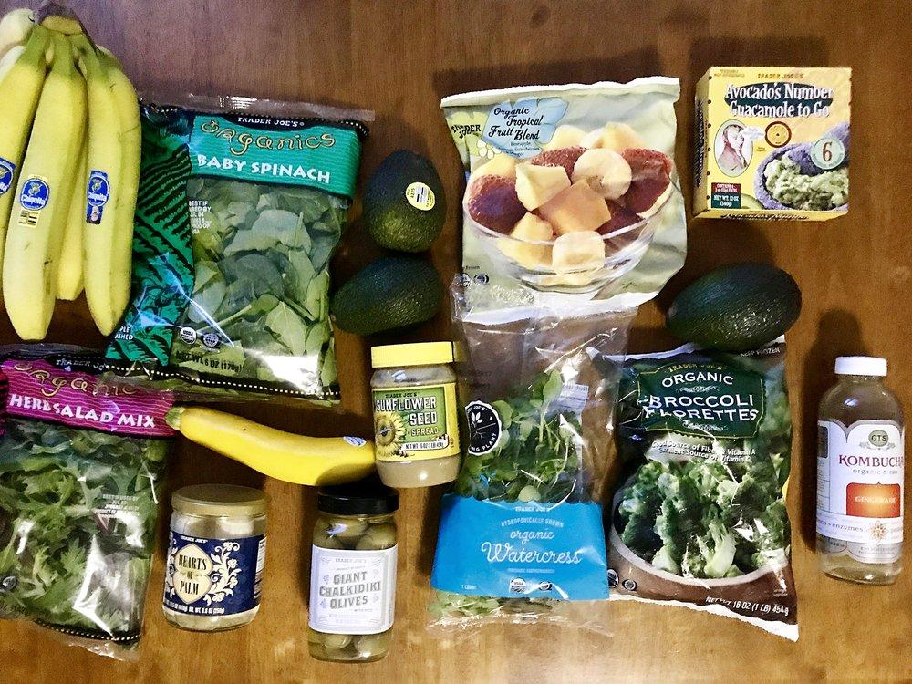 Trader Joe's haul — they have pretty cheap organic veggies!