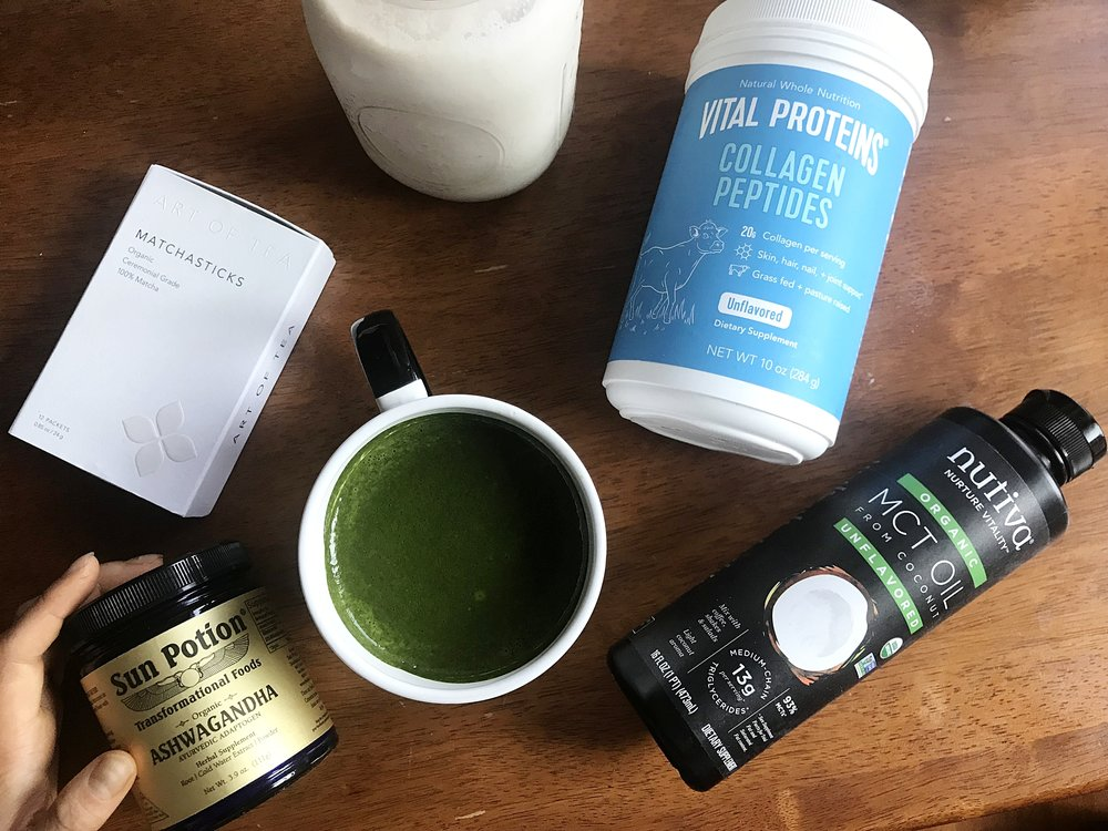 Collagen Matcha Ingredients