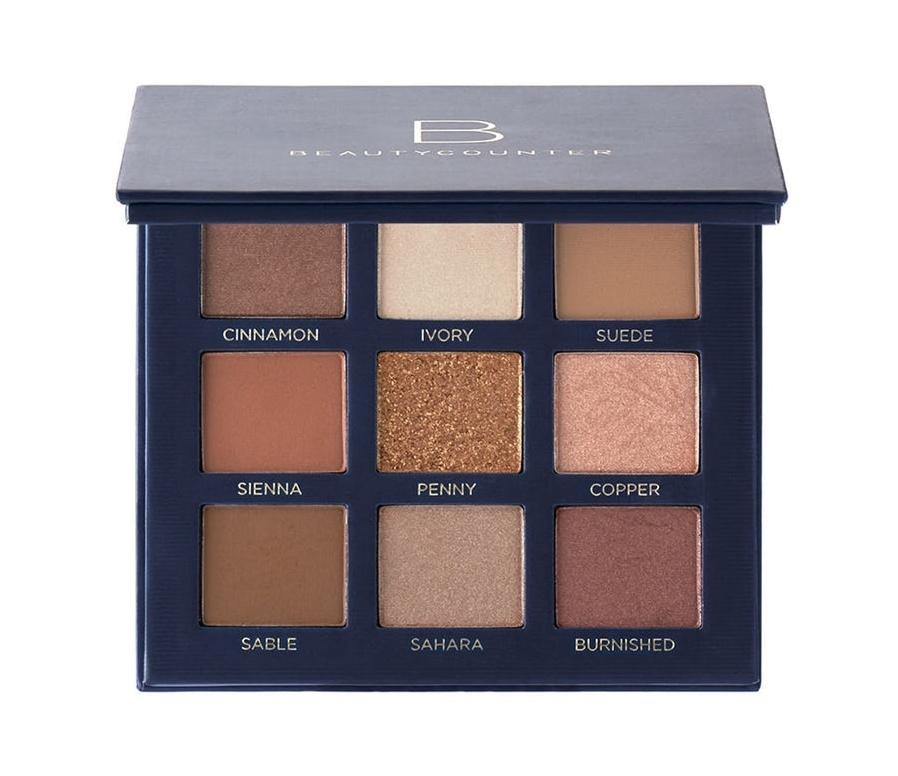 Beautycounter Velvet Eyeshadow Palette in Classic, $50