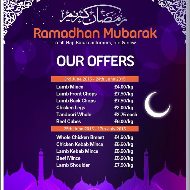 London Ramadan Offers!