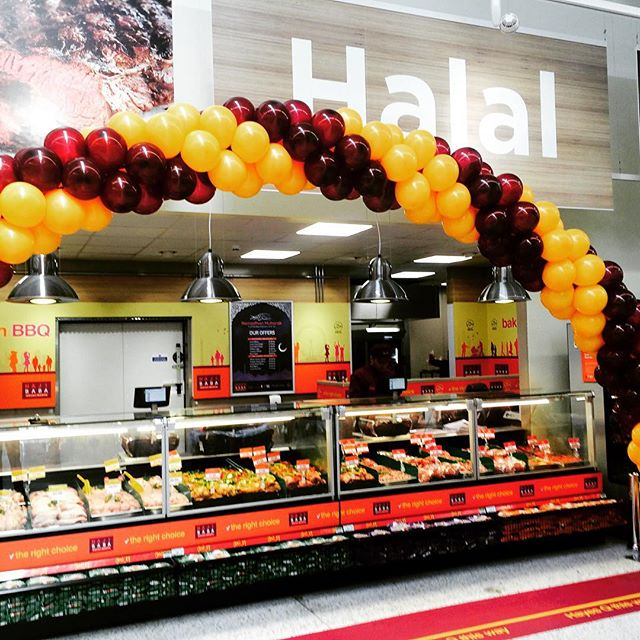 Hayes Halal Counter NOW OPEN! #asda