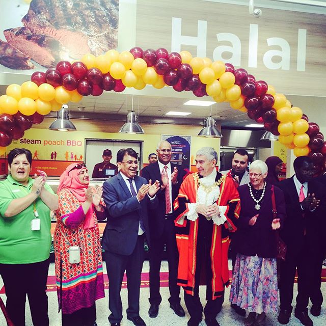 Thank you to the Mayor of Hayes for attending our opening #asda