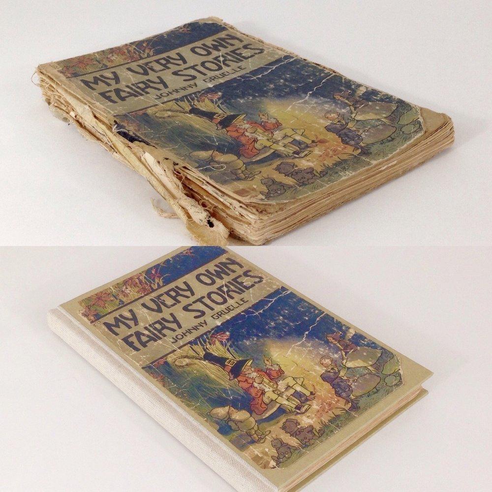 Copy of Rebinding a children's book