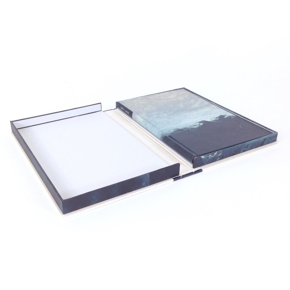 Copy of Design Binding—Blue Lash in Clamshell Box